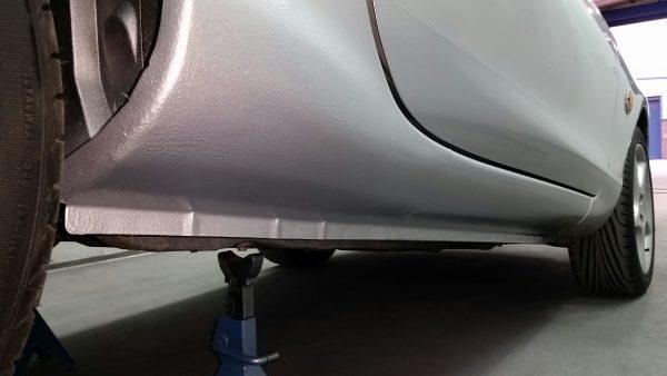 Mazda MX5 Sill Repair