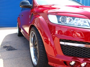 Audi Q7 Re-spray